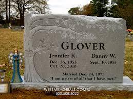 design a headstone carved tree design companion headstone in granite