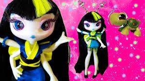 novi stars malie tasker alien doll glow in dark toy review