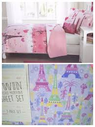 Passport Bed Set Paris Bedding Set Full Size Tokida For