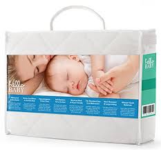 Baby Crib Mattress Pad Hello Baby Waterproof Crib Mattress Cover Quilted Ultra Soft