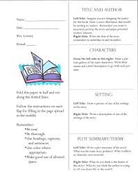 Newspaper Book Report Template Example Of Book Report Writing