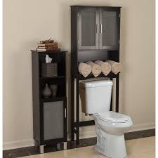 Over Toilet Bathroom Cabinets by Over Toilet Cabinet Bathroom Storage Space Saver Wood Organizer