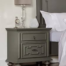 bed u0026 bath solid wood grey nightstand for transitional bedroom design