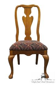 Pictures Of Queen Anne Chairs by High End Used Furniture Thomasville Fisher Park Collection Queen