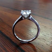 minimal engagement rings platinum solitaire ring minimal setting august