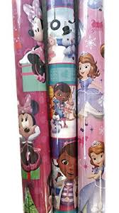 minnie mouse christmas wrapping paper deals on doc mcstuffins wrapping paper up to 78 hanutt