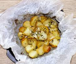cuisiner les pommes de terre de noirmoutier pommes de terre aux herbes en papillote s et si c était bon