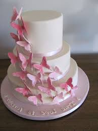 wedding cake with butterfly theme design wedding decor theme