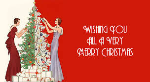 wishing you all a merry vintage gal