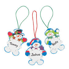 amazon com foam reindeer holiday ornament craft kit pack of 12