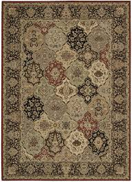 designer wool area rugs lumiere collection persian tapestry wool area rug in multicolor