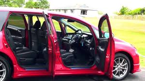 honda odyssey absolute 2004 red 2 4l auto youtube