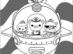 octonauts coloring octonauts games