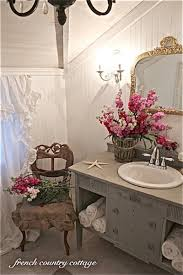 French Country Bathroom Ideas Colors French Country Cottage Bathroom Makeover On A Budget