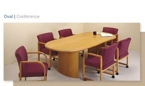 Oval Conference Table Wood Conference Oval Main Lesro Industries