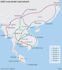 Kunming China Map by Logistics Firms Push Regional Truck Networks South China Morning
