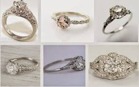 vintage wedding bands for heirloom engagement ring etiquette lyle husar designs