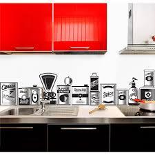 kitchen wall cabinets vintage wall decals thewonderwalls vintage kitchen wall