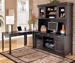 Corner L Shaped Desk by Signature Design By Ashley Carlyle Corner L Shape Desk With