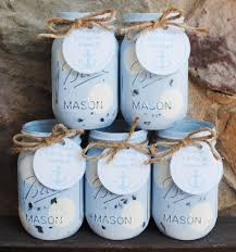 jar baby shower centerpieces jars boy baby shower centerpieces nautical shower