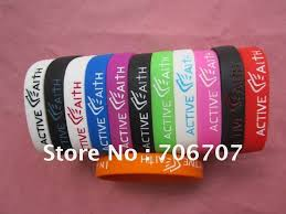 faith bracelets free shipping new out active faith in jesus name i play bracelets