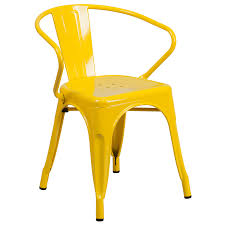 Outdoor Metal Chairs Yellow Outdoor Chairs