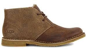 ugg s shoes amazon com ugg mens leighton bomber chukka boot shoes