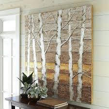 birch tree decor wall ideas tree canvas wall willow tree canvas wall