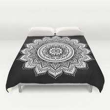 Black And White Bed Black And White Bohemian Elephant Bedding 3 Pc Set Queen U0026 2