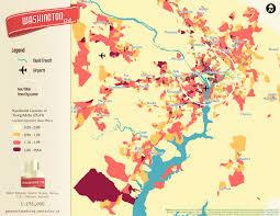 Boston Neighborhoods Map by Millennial Neighborhood Maps Business Insider