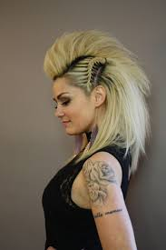 best 10 women u0027s faux hawk ideas on pinterest viking hair long