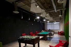 skype headquarters non residential hallway skype office interiors industrial tech