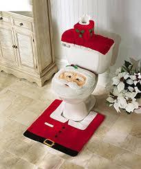 oliadesign decorations happy santa toilet seat