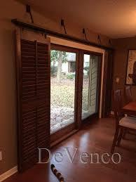 Sliding Door Curtain Terrific Barn Door Curtains Beautiful Design Curtain Rod For