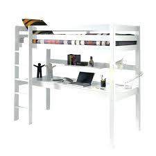 bureau pour lit mezzanine lit mezzanine bureau ado lit mezzanine x cm coloris