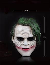 1pc resin clown mask movie batman character masquerade masks