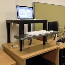 elevated desk shelf photos hd moksedesign