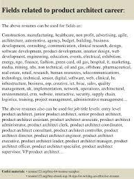 product architect sample resume top 8 product architect resume