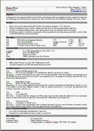 Example Of One Page Resume by 1 Page Resume Example