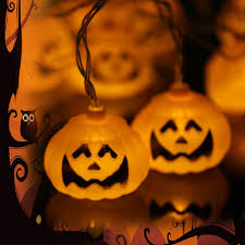 halloween 2 5m 8 2ft 10 leds pumpkin string light sales online