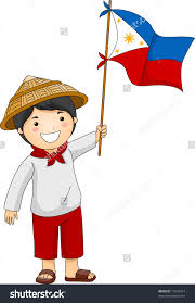 Philippine Flag Means Child Holding Flag Clipart Clipground