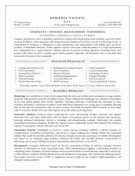 Cleaning Sample Resume by Sample Resumes For A Management Graduate