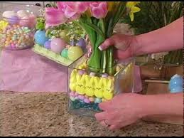 Easter Decorations For Cheap by Fast And Fun Easter Centerpieces From The Supermarket Youtube