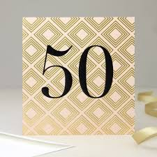 50th birthday cards chevron 50th birthday card diamonds