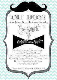 mustache and bow tie baby shower mustache and bow tie baby shower invitations party xyz