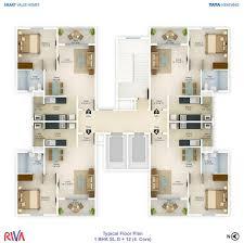 floor plan tata housing riva