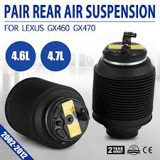 lexus spare parts sydney new pair rear air spring bags 48090 35011 for toyota landcruiser