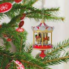 carousel mini ornament keepsake ornaments hallmark