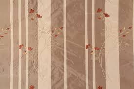Striped Drapery Fabric Yards Embroidered Silk Stripe Drapery Fabric In Portobello