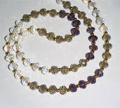 necklace beaded crystal images 75 best dainty crystal bead necklaces images bead jpg